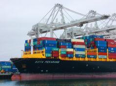 Kota Pekarang container ship